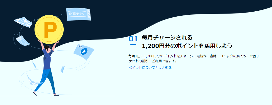 U-NEXTポイント解説