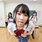 【学園天国VRエロ動画】昇天確実!制服女子と戯れよう